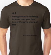 Band Nerd Problems #1 T-Shirt