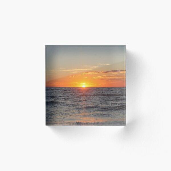 SunRise  Acrylic Block