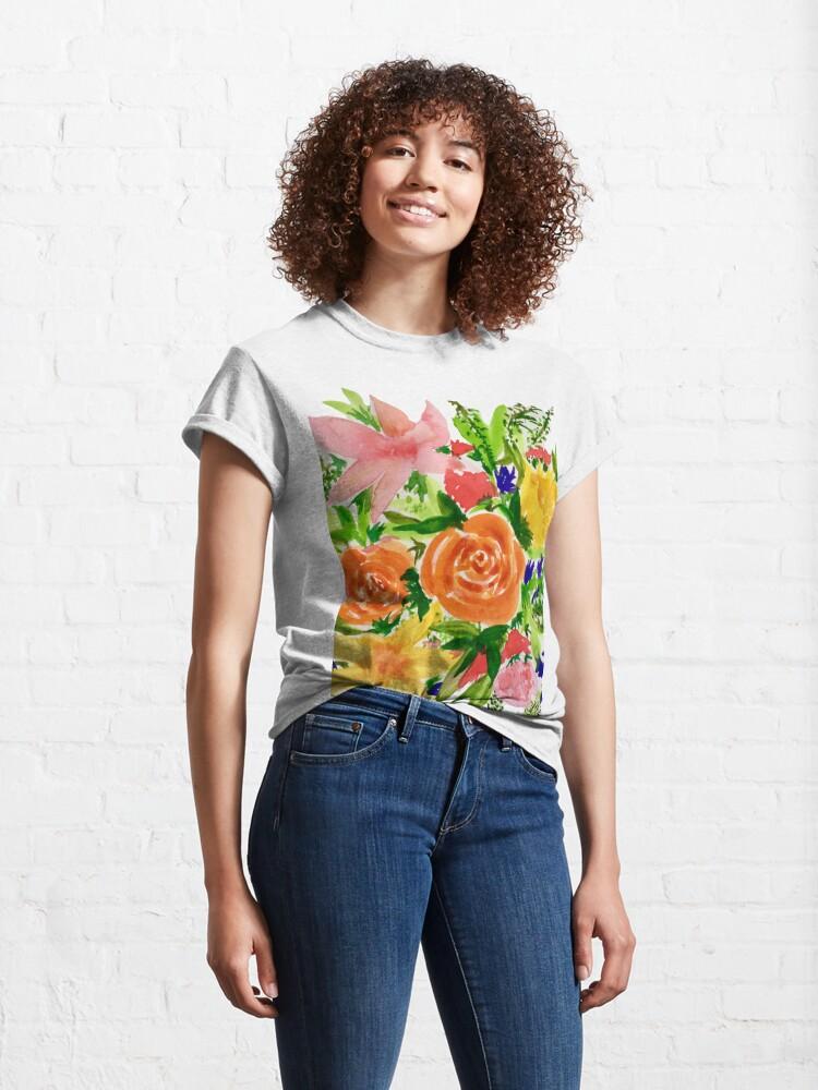 Alternate view of Patti's Flowers Classic T-Shirt