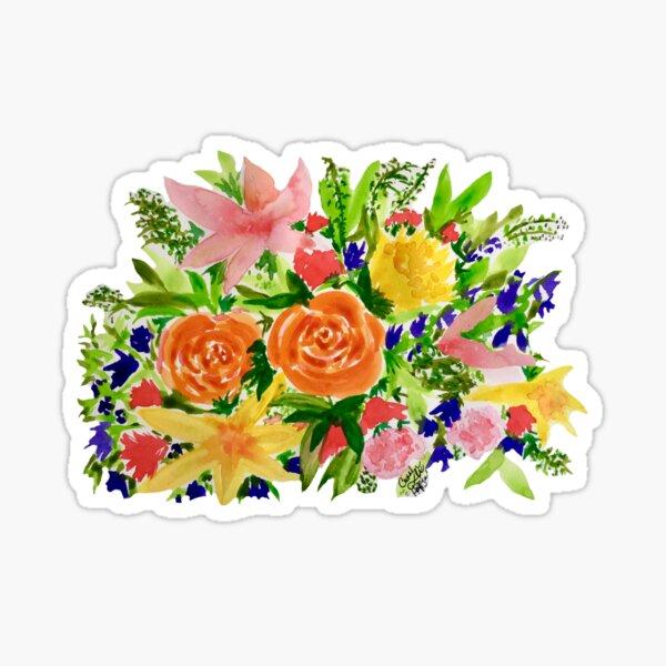 Patti's Flowers Sticker