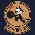 VFA-31 Fighting 31 Emblem by warbirdwear