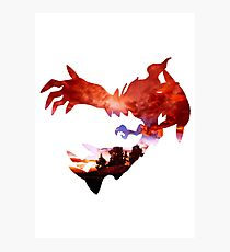 Yveltal used Oblivion Wing Photographic Print