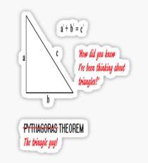 I'm Pythagoras Sticker