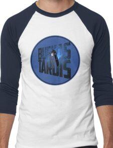 Buenas Tardis Men's Baseball ¾ T-Shirt