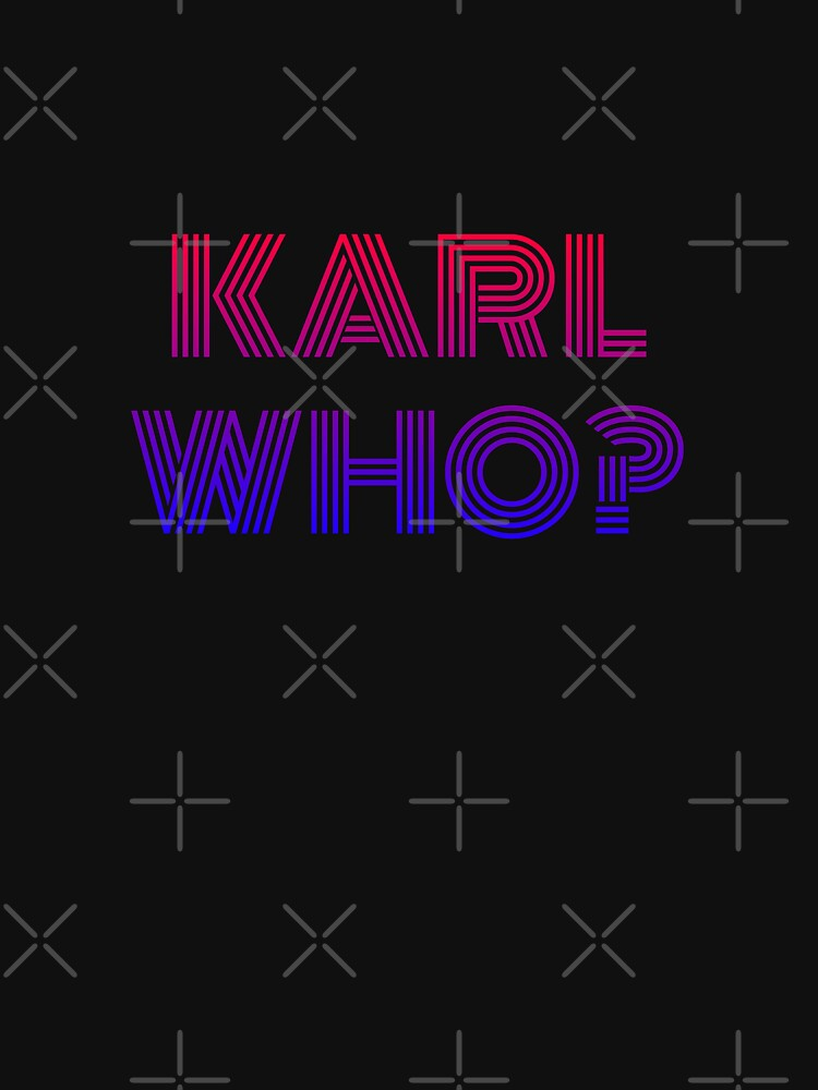 Karl who? karl lagerfeld by beldjouher