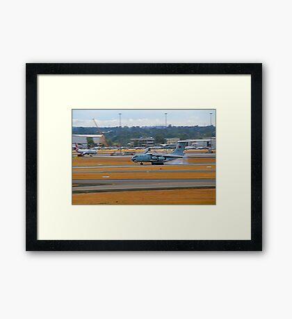 China Air Force Ilyushin Il-76 - Perth Airport Framed Print
