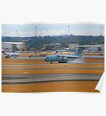 China Air Force Ilyushin Il-76 - Perth Airport Poster