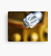 Dalek attack, the blast gun Canvas Print