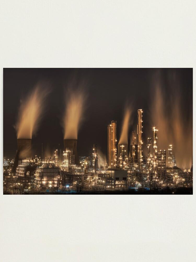 Alternate view of Grangemouth Refinery (4) Photographic Print
