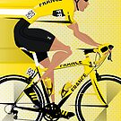 France Yellow Jersey by Andy Scullion