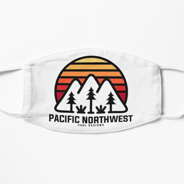 Pacific PNW Sunset Mask