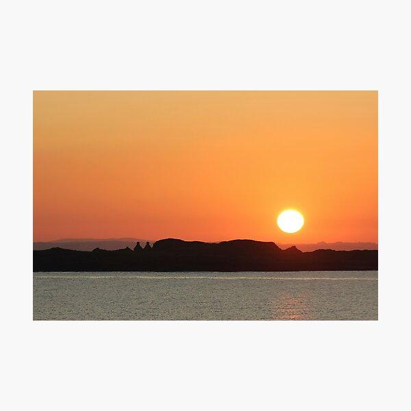 Carrick Sunset Photographic Print