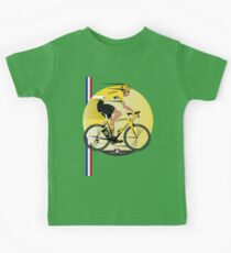France Yellow Jersey Kids Tee
