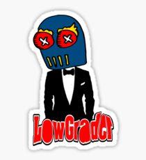 lowgrader tux Sticker