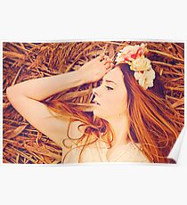 Pretty redhaired young women Poster