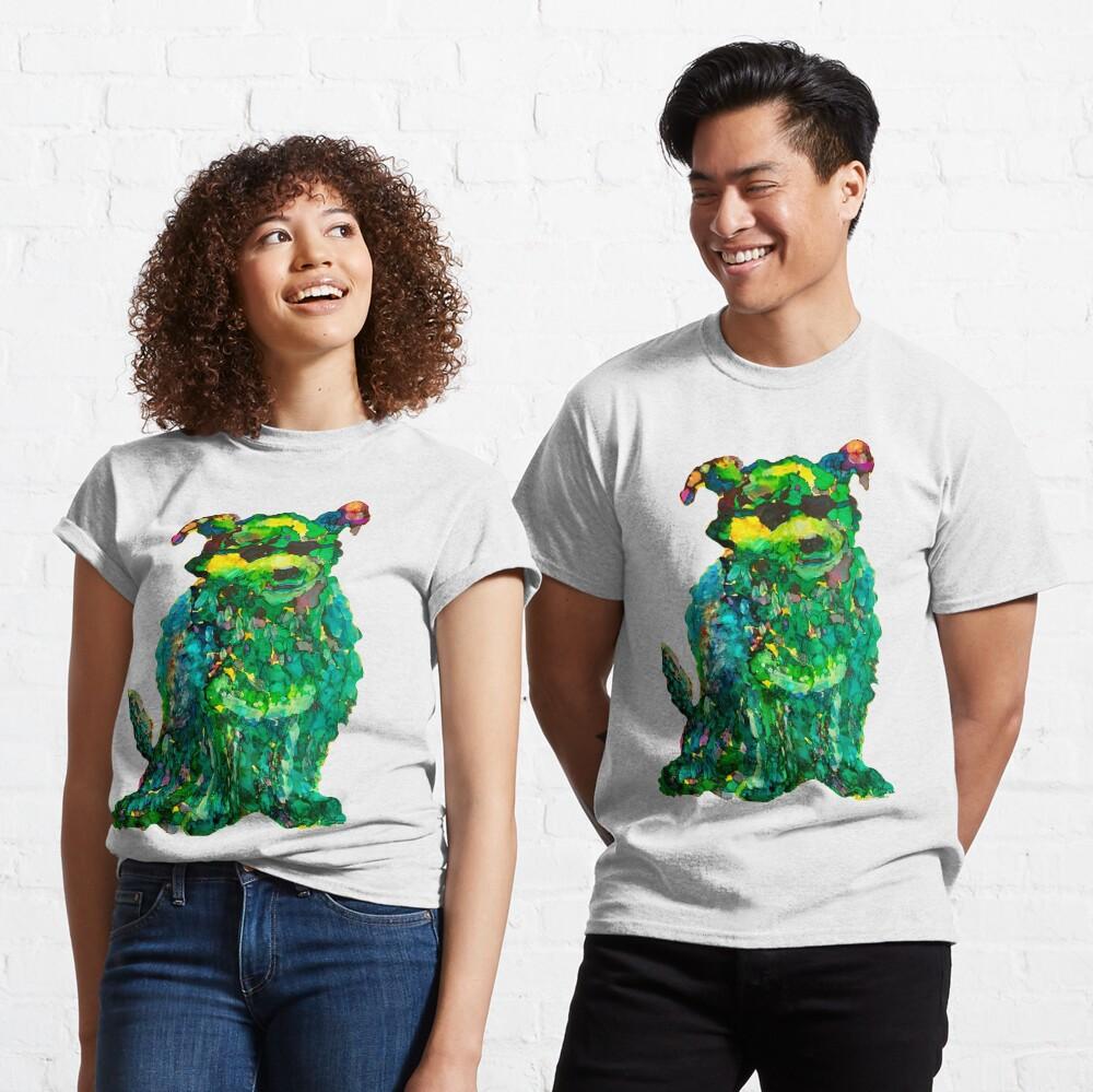 Cool Dog Abstract Original Classic T-Shirt