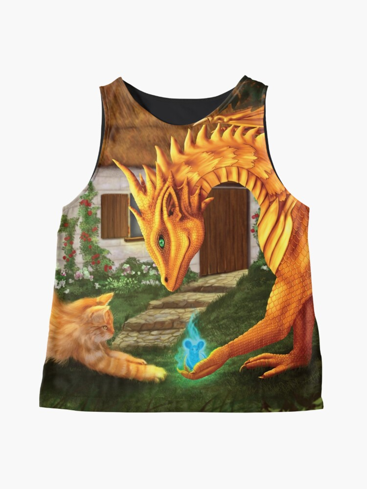 Alternate view of Cat and Dragon Sleeveless Top