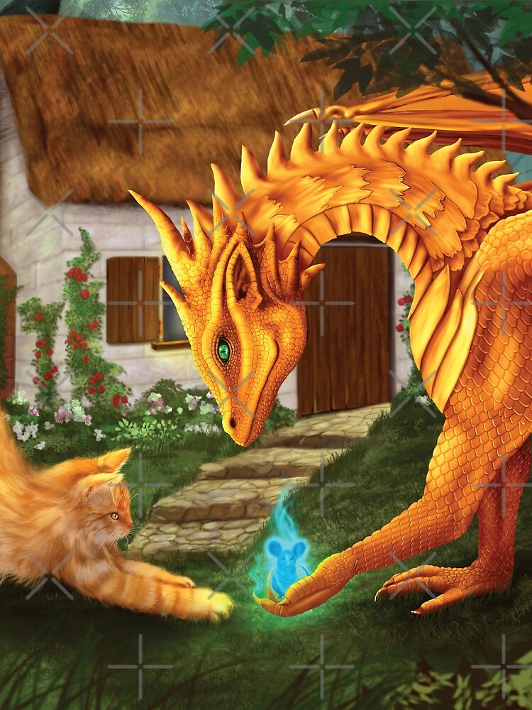 Cat and Dragon by leever