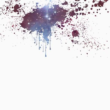 Splattered Nebula by Spritesup