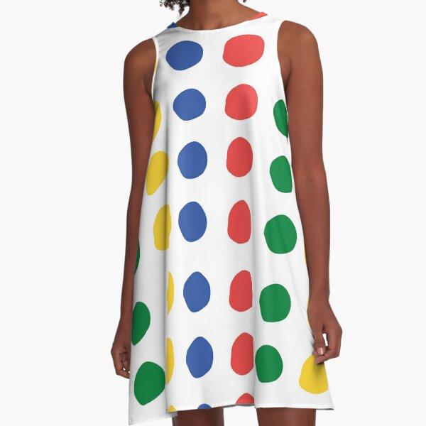 Twister pattern A-Line Dress