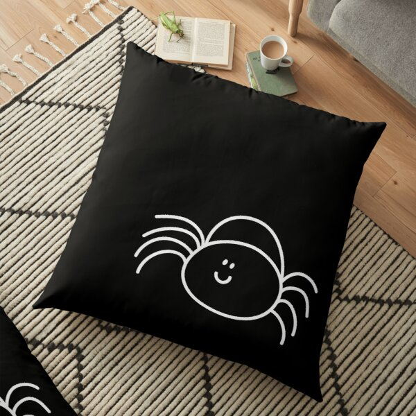 The scary spider Floor Pillow