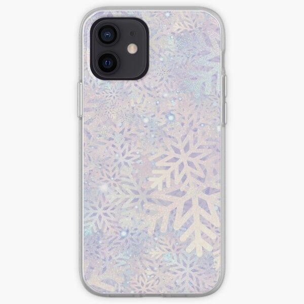 Pastel Snowflake  iPhone Soft Case