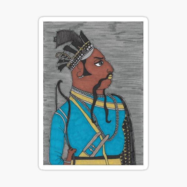 Rawat MAHA SINGHJI, Thakur of Kanore Sticker