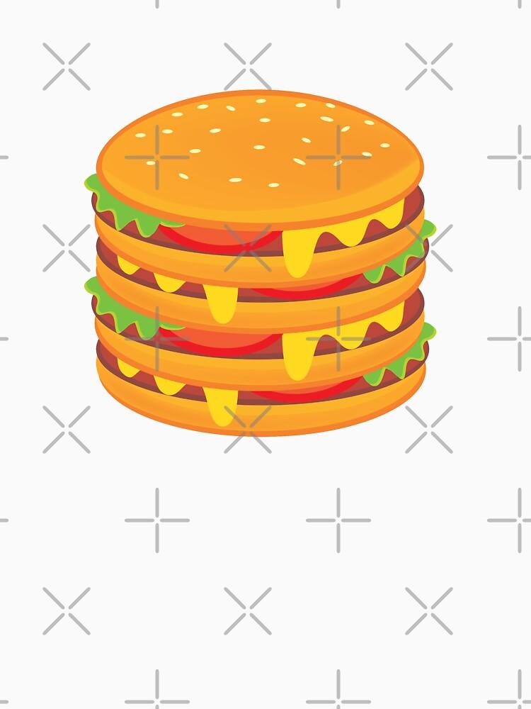 multi-storey hamburger by duxpavlic
