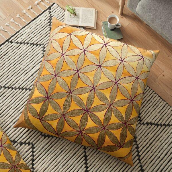 Flower of Life (XL) Floor Pillow