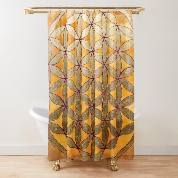 Flower of Life (XL) Shower Curtain