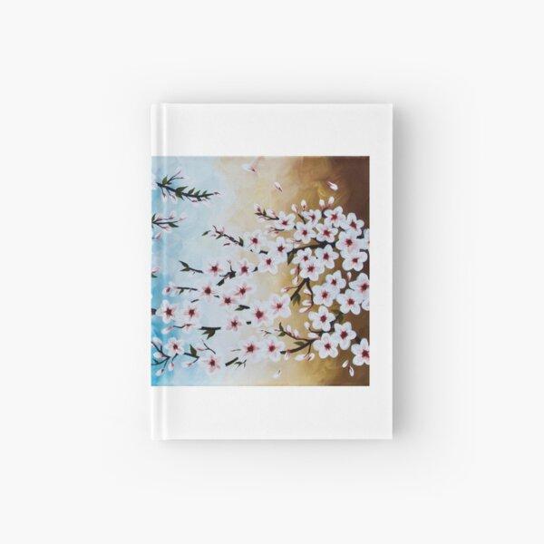Horizontal Cherry Blossoms Hardcover Journal
