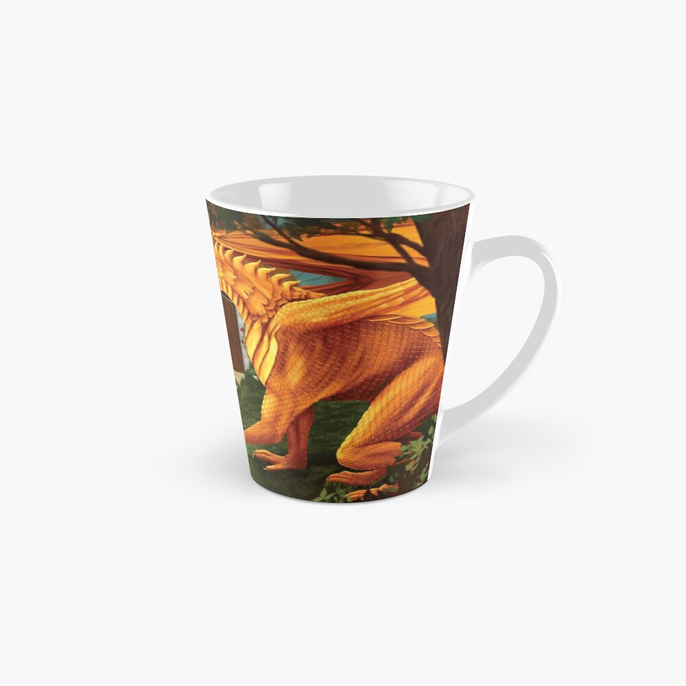 Cat and Dragon Mug