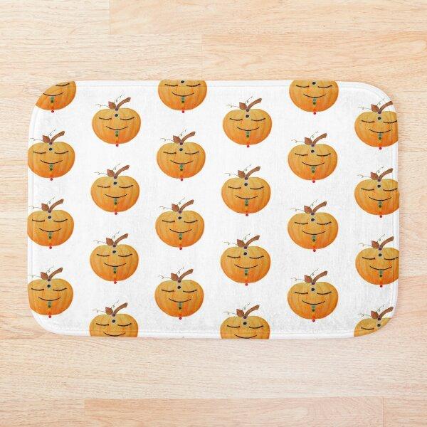 Chakra Pumpkin Bath Mat