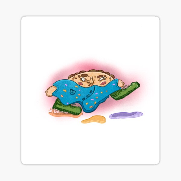 Puddle Jumping  Sticker