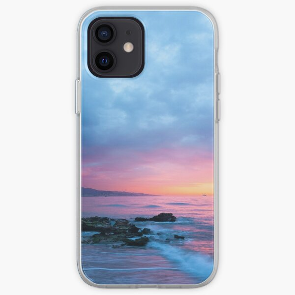 Beautiful Tropical Sunset  iPhone Soft Case