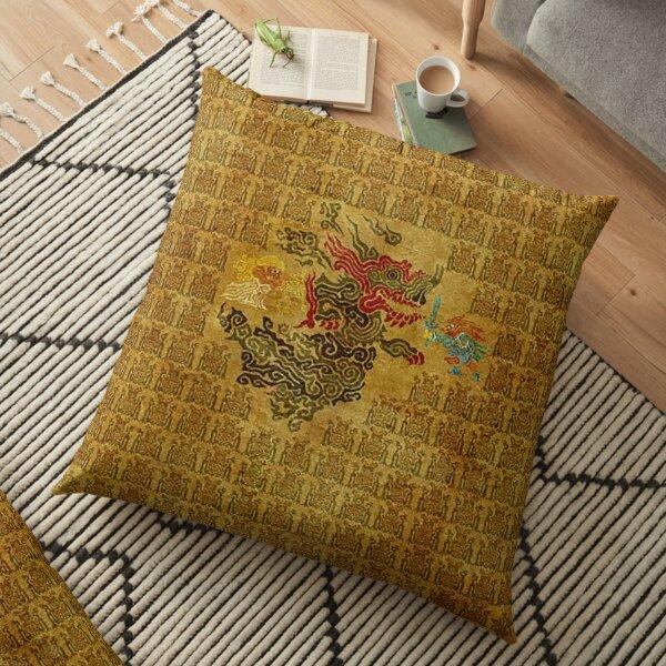 Zelda and Link  Floor Pillow