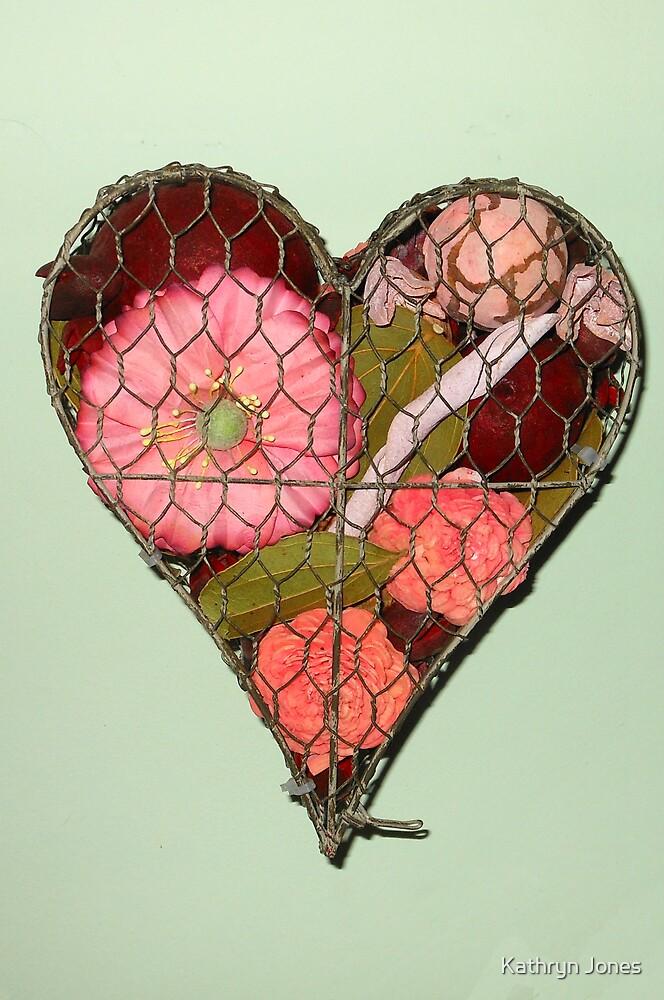 Heart Shaped Wall Decoration by Kathryn Jones