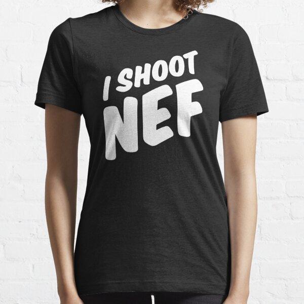 I shoot NEF Essential T-Shirt