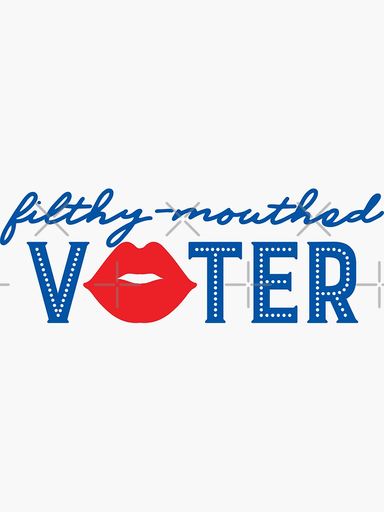 Filthy-Mouthed Voter by thespottedolive
