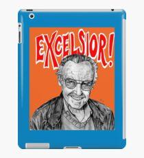 Stan Lee Excelsior  iPad Case/Skin