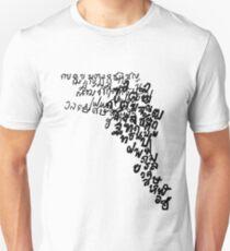 LINEart T-shirt : Thai Alphabet  Unisex T-Shirt