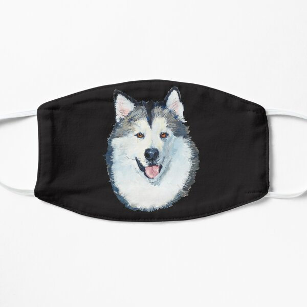 alaskan malamute dog Mask
