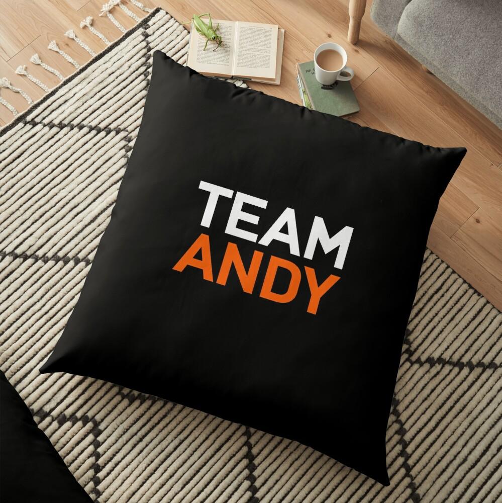 Team Andy Richter Floor Pillow