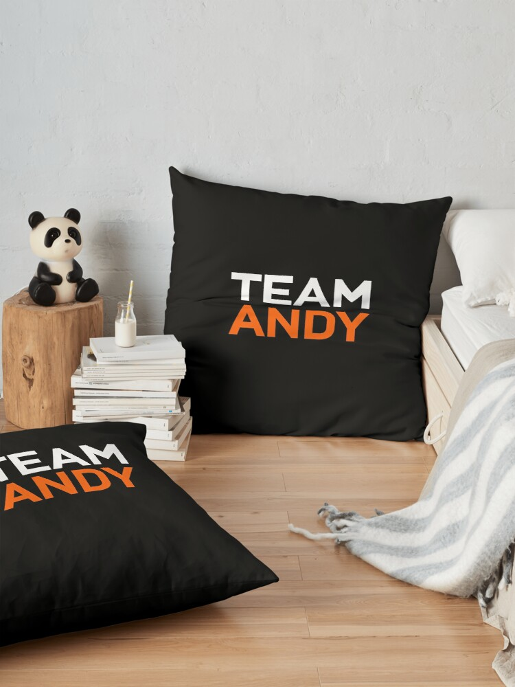 Alternate view of Team Andy Richter Floor Pillow