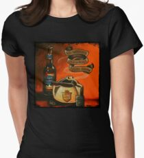 The One Year Anniversary Show Artwork Womens Fitted T-Shirt