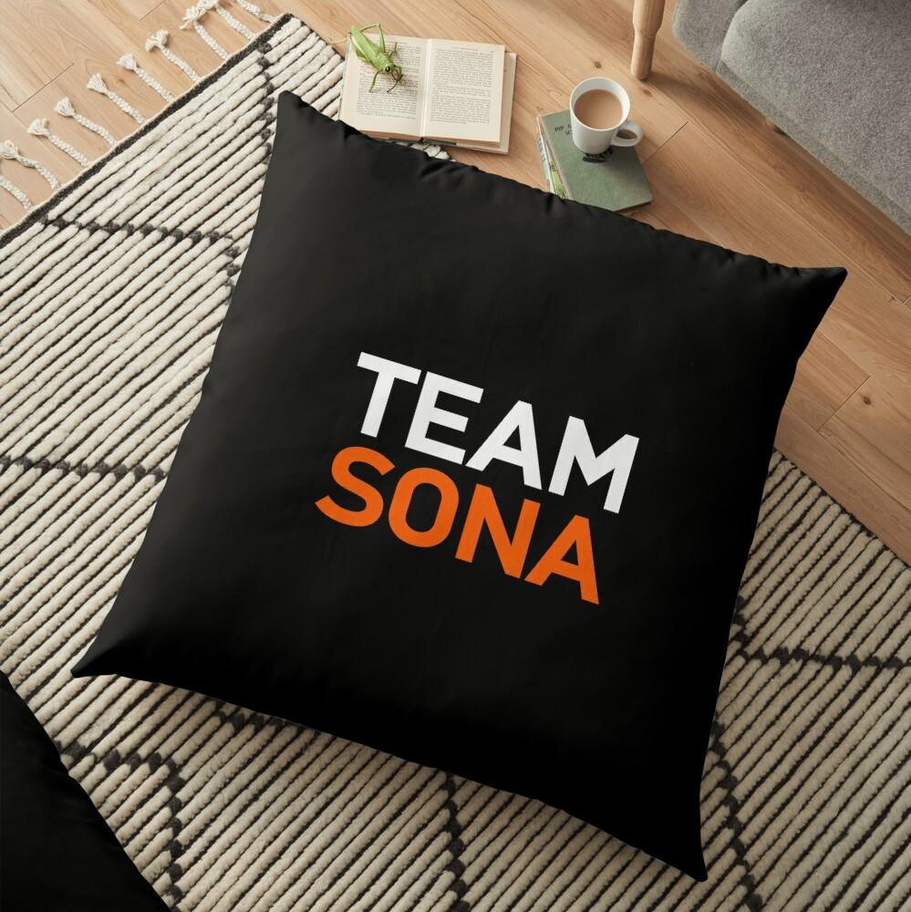 Team Sona Movsesian  Floor Pillow