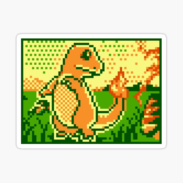 Pokémon Trading Card Game 2 - Charmander Sticker