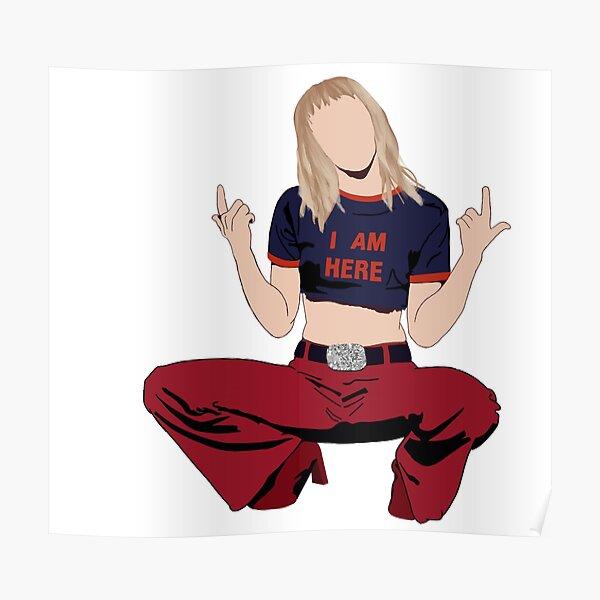 Elle est Miley Cyrus Poster