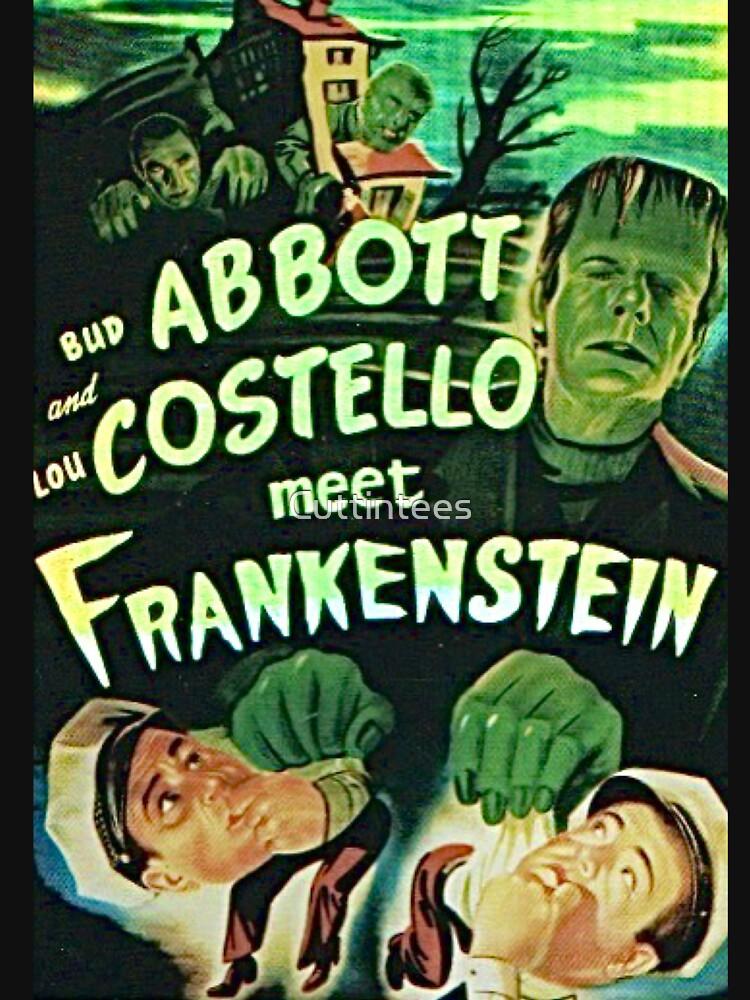 Abbott and Costello meet Frankenstein by Cuttintees