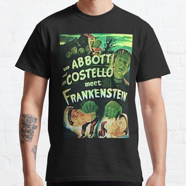 Abbott and Costello meet Frankenstein Classic T-Shirt